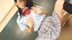 School Girl Aya Seto Classroom Pussy Part3
