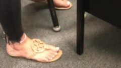 Teachers Daughter Candid White Toes Caught *like For More Videos*