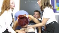 Sensuous Teacher Shona And 2 Perfect Student Blows And Fuck's New Student Huge Penis