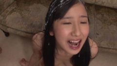 Steamy Japanese Bukkake Scene
