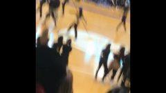 Teenagers At School Lap Dancing