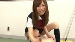 Hasegawa Shizuku – Jk Uniform Hand-job In Classroom
