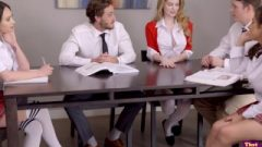 Facts Of Lust – Lucky Classmates Group Bang With Nat And Jo S2:e9