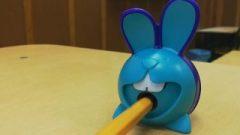 Little Blue Bunny Suck Her Student Inthe Classroom