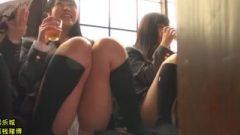 School-Girl Panchira For The Masses