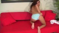 Risi Simms Teasing Joi In Several Pairs Of Panties. Nailing Arousing