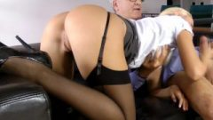 British Homemade Cocksucking Oldman On Couch
