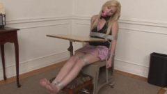 Barefoot-bound In College Uniform
