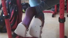 Purple Socks At University